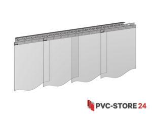 PVC Lamellen 400mm x 3mm