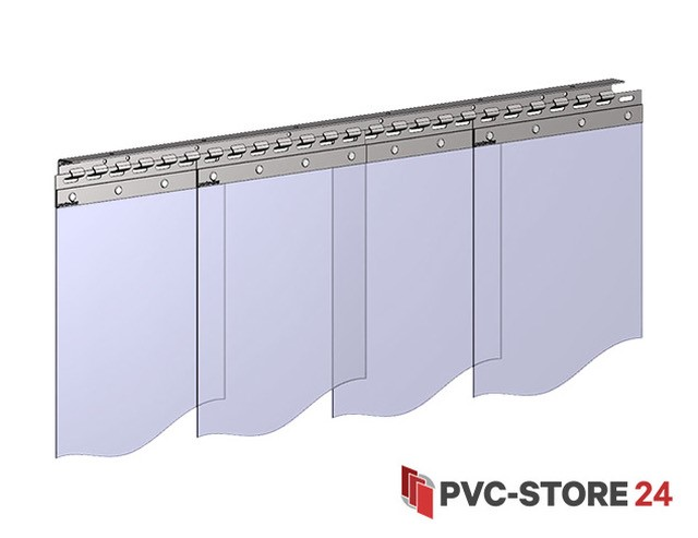 Pvc Vorhang Fotos : Pvc vorhang transparent lamellenvorhang